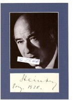 WILLIAM STEINBERG (Wilhelm Steinberg, 1899–1978) deutsch-US-amerikanischer Dirigent. Gemeinsam mit dem Geiger Bronisław Huberman gründete er 1936 das...